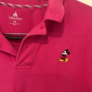 Mickey Mouse Disney Parks Polo